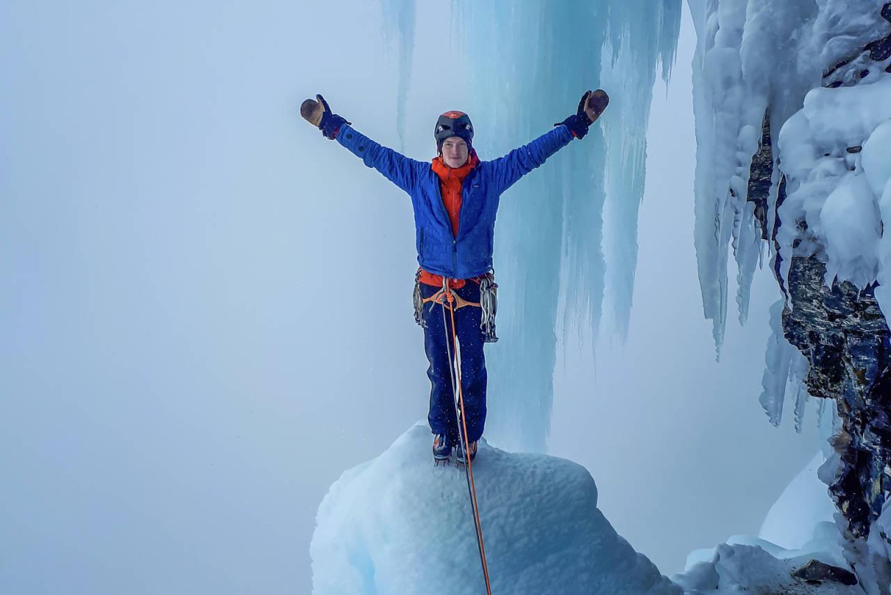 alpinklatring Martin Olslund