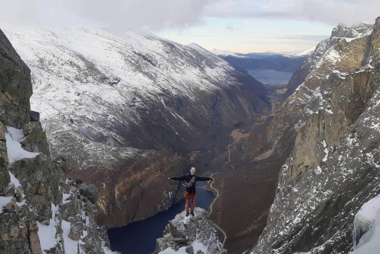Eivind Hugaas alpinklatring