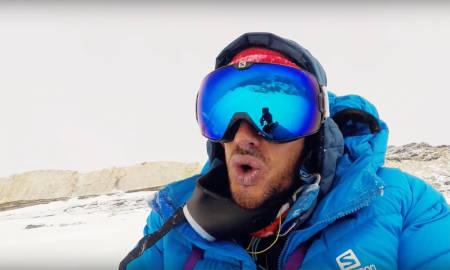VANVITTIG PRESTASJON: Spanske Kilian Jornet klatra opp på Mount Everest to ganger på ei uke uten verken hjelp fra andre eller ekstra oksygen.