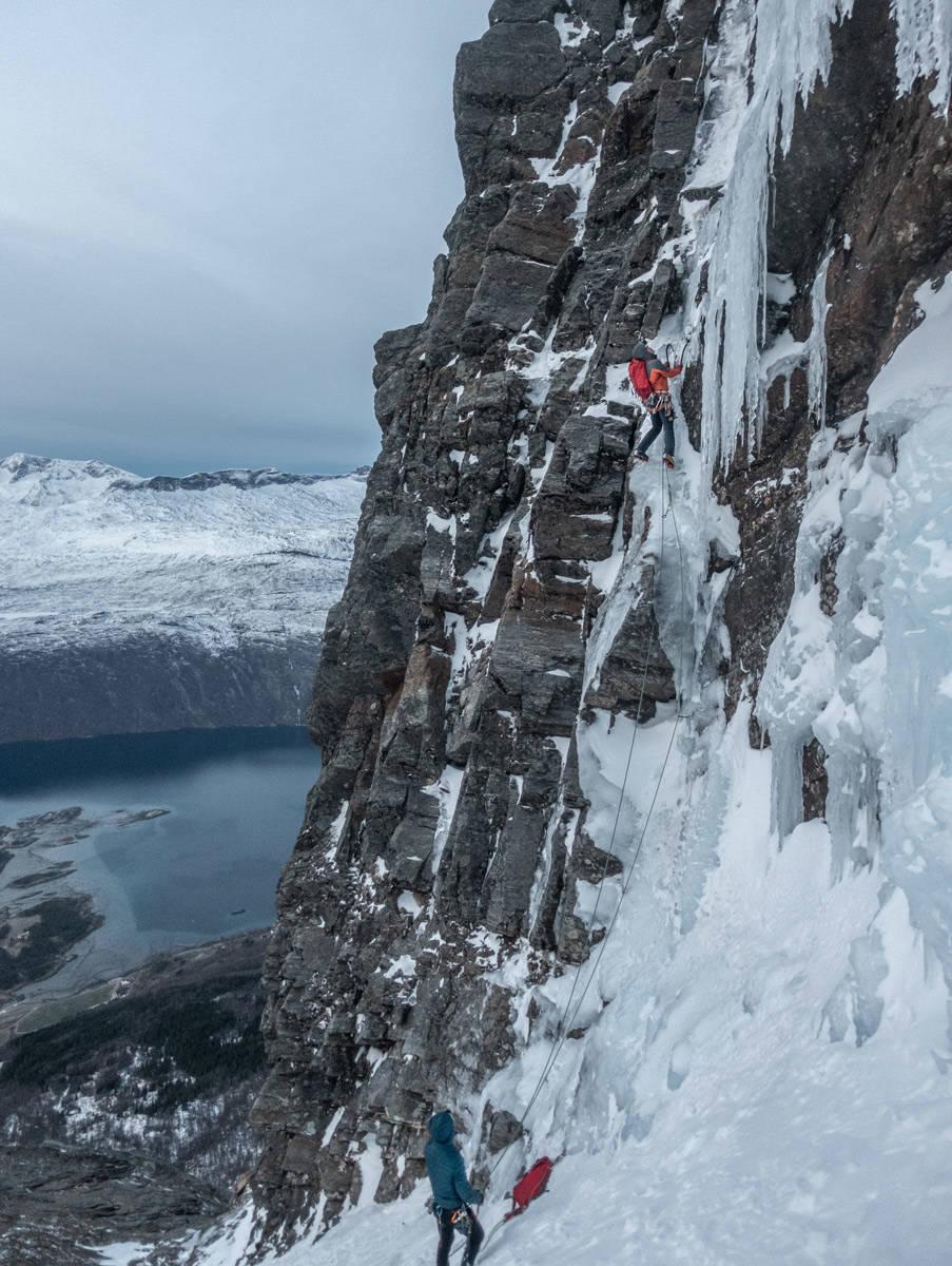 Alexander Nordvall på Kongens Panorama, Skjomen. Foto: Anna Nystedt