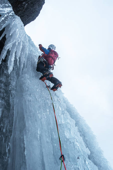 Alexander Nordvall i Spansdalen. Foto: Andreas Widlund