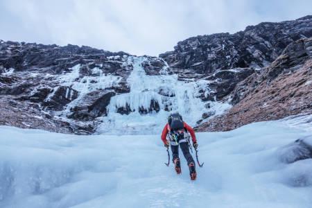 Andreas Widlund i Spansdalen. Foto: Alexander Nordvall