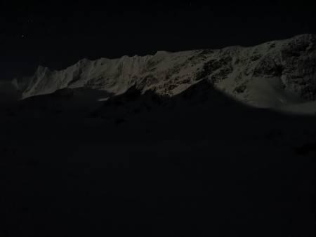 Måneskinn i Skagadalen
