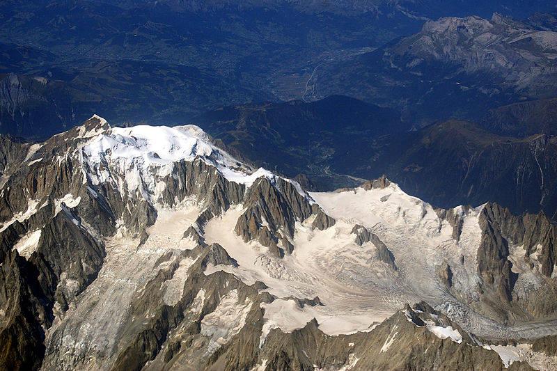 Mont Blanc. Foto: Joe MiGo/Wikipedia.org