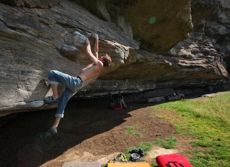 buldring klatring