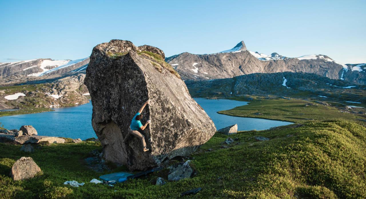 Gjerdalen, Nordland, livesending, Rasmus Bølling