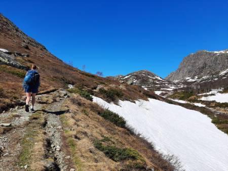 Anmarsjen er en fin gåtur i seg selv. Foto: Lisa Kvålshaugen Bjærum