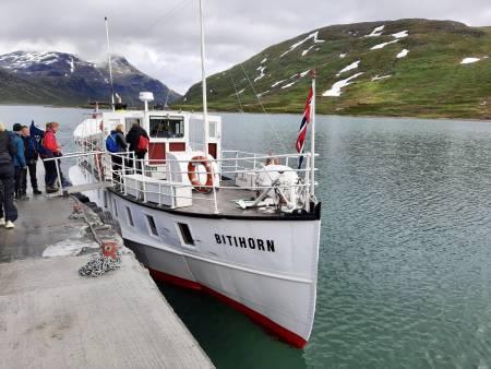Båten Bitihorn. Foto: Lisa Kvålshaugen Bjærum