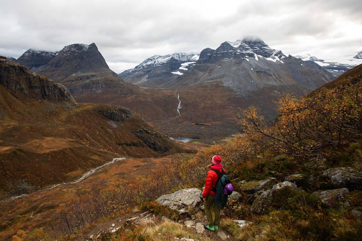 Innerdalen fjellklatring klatring