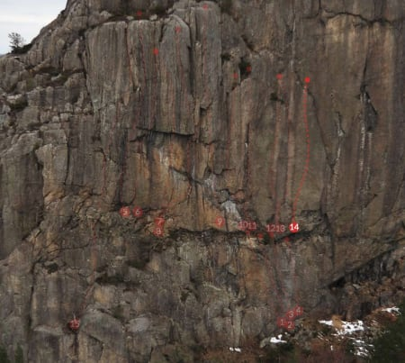 Ruta Alvedans (8) på Dale ved Stavanger. Foto: Brattelinjer.no