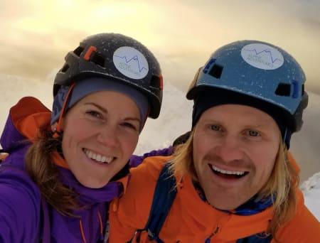 Driver Lodge i Lofoten; Emma Wichardt og Signar André Nilsen.
