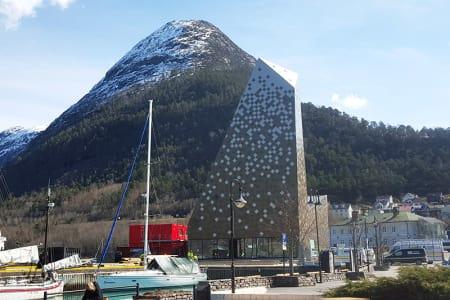 NORSK TINDESENTER: Offisiell åpning av Norsk Tindesenter er fredag 13. mai. Foto: Nils Øveraas