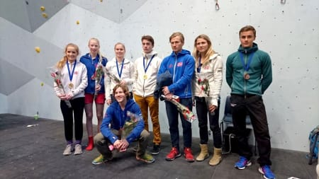 Medaljevinnere fra fjorårets nordiske mesterskap i Haugesund. Foto: Thor-Henrik Kvandahl