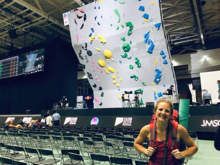 Tina J. Hafsaas kvalifiserer seg til semifinale i VM og ender som nummer 13 i verden. Foto: Nicki Horak