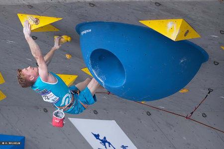Magnus Midtbø fra verdenscupen i Mokpo, Sør-Korea. Foto: Heiko Wilhelm