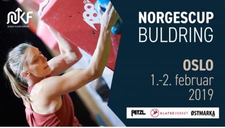 Det blir norgescup på Buldreverket på Bryn den 1. og 2. februar.