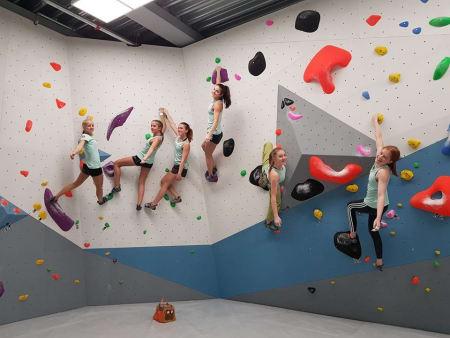 Dominans i den yngste jenteklassen med disse seks jentene blant topp 6. Foto: Hans Petter Wollebæk