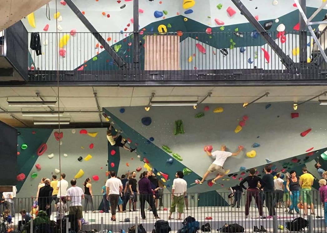 Oslo Klatresenter inviterer til en sosial lørdag i anledning Adidas Rockstars-finalen. Foto: Oslo Klatresenter