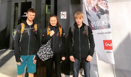 Den norske troppen på plass i Russland for EM i led og speed. Foto: Nicki Horak