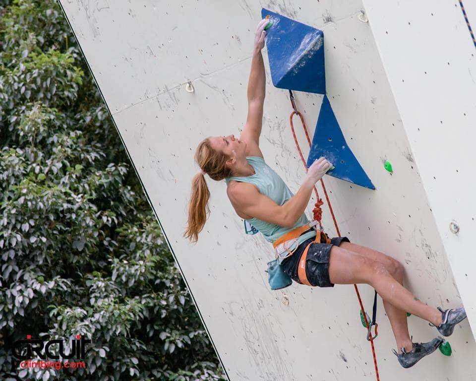 Semifinalen i Wujiang. Foto: Eddie Fowke / The Circuit Climbing