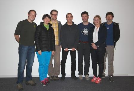 Nytt styre i NKF, med Generalsekretæren på plass. Foto: Lars Ole Gudevang