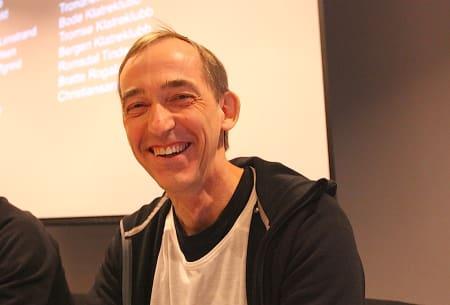 Stein Tronstad er den nye klatrepresidenten. Foto: Dag Hagen