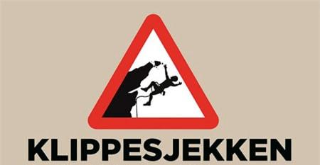 Norges Klatreforbund med Klippesjekkplakat