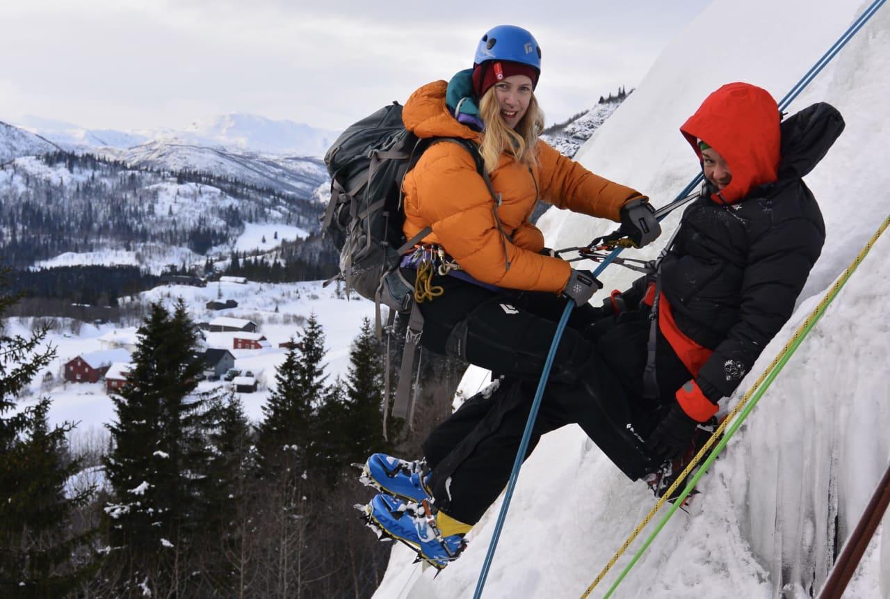 Kameratredning er nyttig, også på is. Foto: Kaisa Markhus
