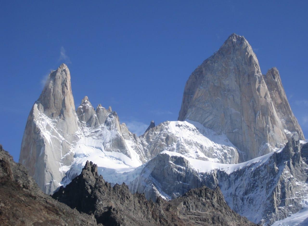 Mektige Fitz Roy i Patagonia. Foto: Wikipedia