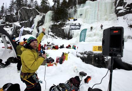 Jacob Surlykke Fink blir nok å finne bak mikrofonen også i år. Foto: Dag Hagen