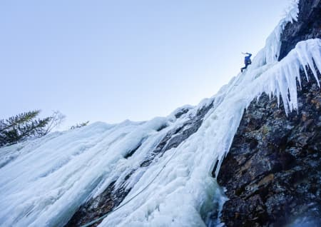 Isklatrefører for Fossberget, Hørtekollen og Glassåsen