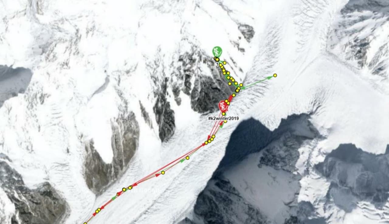 Så langt har ekspedisjonen kommet den 24. januar. Grafisk oppsett fra nettsiden russianclimb.com.