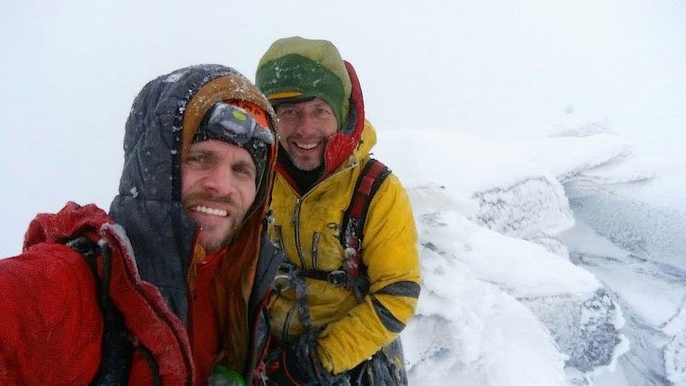 Polske Marcin Tomaszewski og Marek Raganowicz med ny rute i Trollveggen.