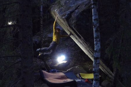Nalle Hukkataival topper ut The Lappnor Project, som nå har blitt Burden of Dreams (9A).