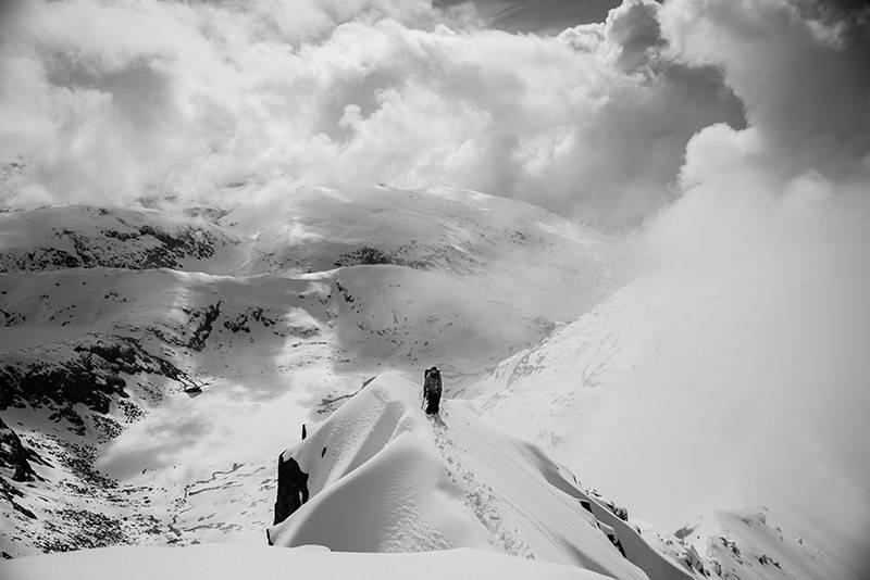 Se de fantastiske bildene og videoen lenger ned i saken. Foto: Frikk H. Fossdal.