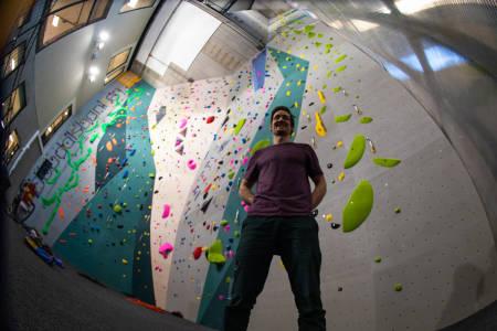 Krux klatring Oppdal inneklatring klatrevegg klatresenter