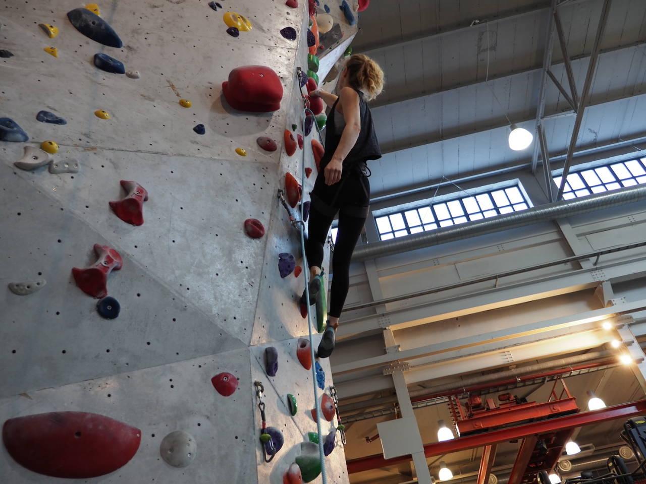 NÅ BLIR KLATRESENTRENE I OSLO HELT STENGT: En økende smittetrend gjør at byrådet i Oslo nå ser ingen annen vei enn å forby innendørs fritidsaktivitet for barn og unge også. Foto: Lisa Kvålshaugen Bjærum