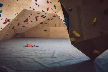 Bergen klatresenter er nå helt tomt og i første omgang i to uker fremover. Foto: Nini Sissener.