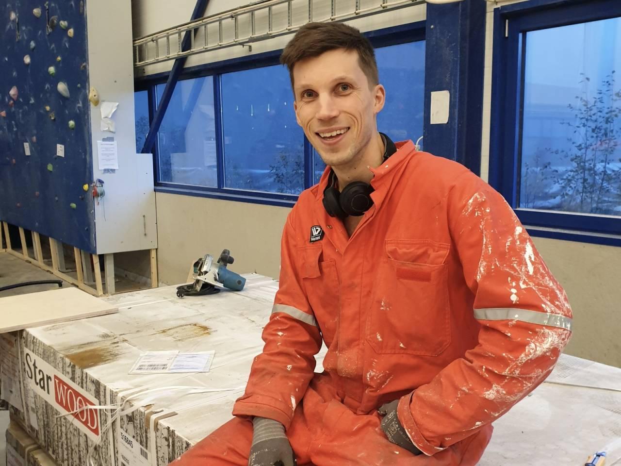 Torbjørn Wiken er ny daglig leder på Førde klatresenter.