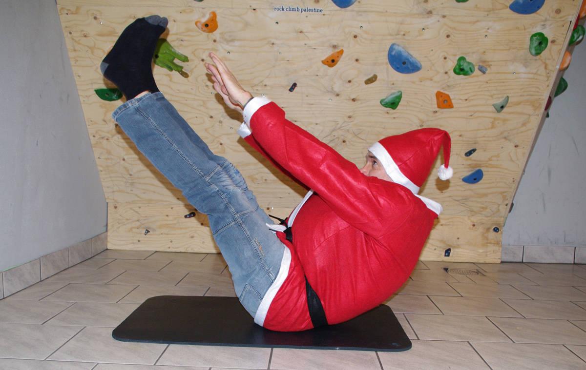 PERFEKT DAG: Det kan umulig passe bedre å ta ei treningsøkt for klatring enn på den internasjonale fjelldagen!