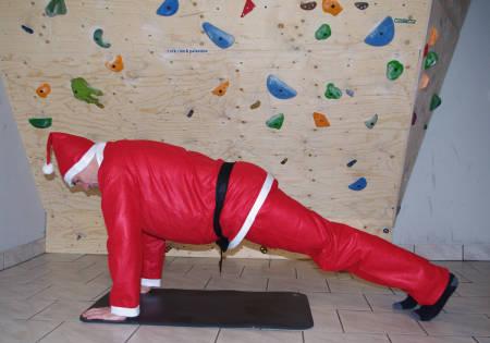 DAGEN MED STOR D: Etter dagens økt er du MYE sterkere enn i november - såfremt du har fulgt klatrenissens treningsprogram
