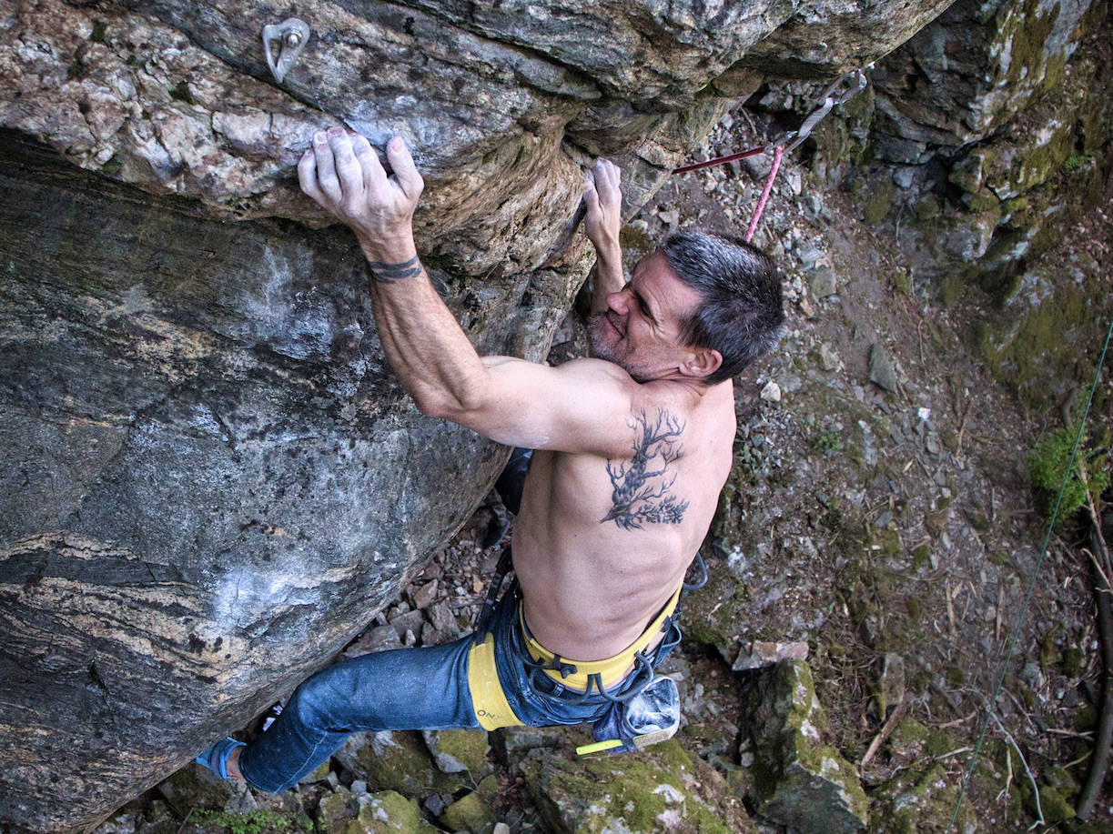 Gudmund Grønhaug, vekt, klatring