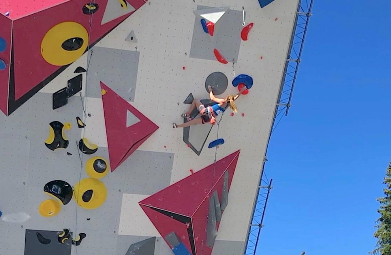 tina hafsaas verdenscup klatring villiers