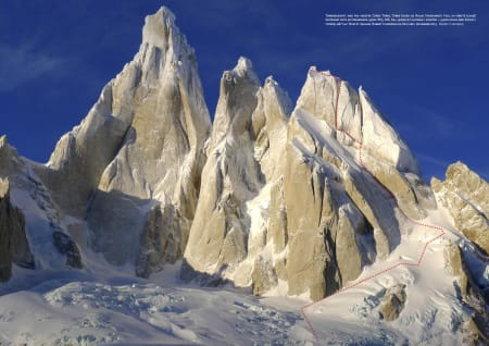 CERRO TORRE: Klassiker i Patagonia.