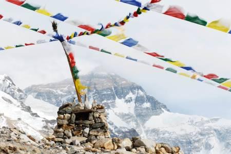 Forskånet: I Tibet er det i langt større grad «sobre» tilstander rent klatremessig, noe dette bilde gir følelsen av. På den andre siden var det slik for noen tiår siden. Nå er galskapen løs. Foto: Tormod Granheim