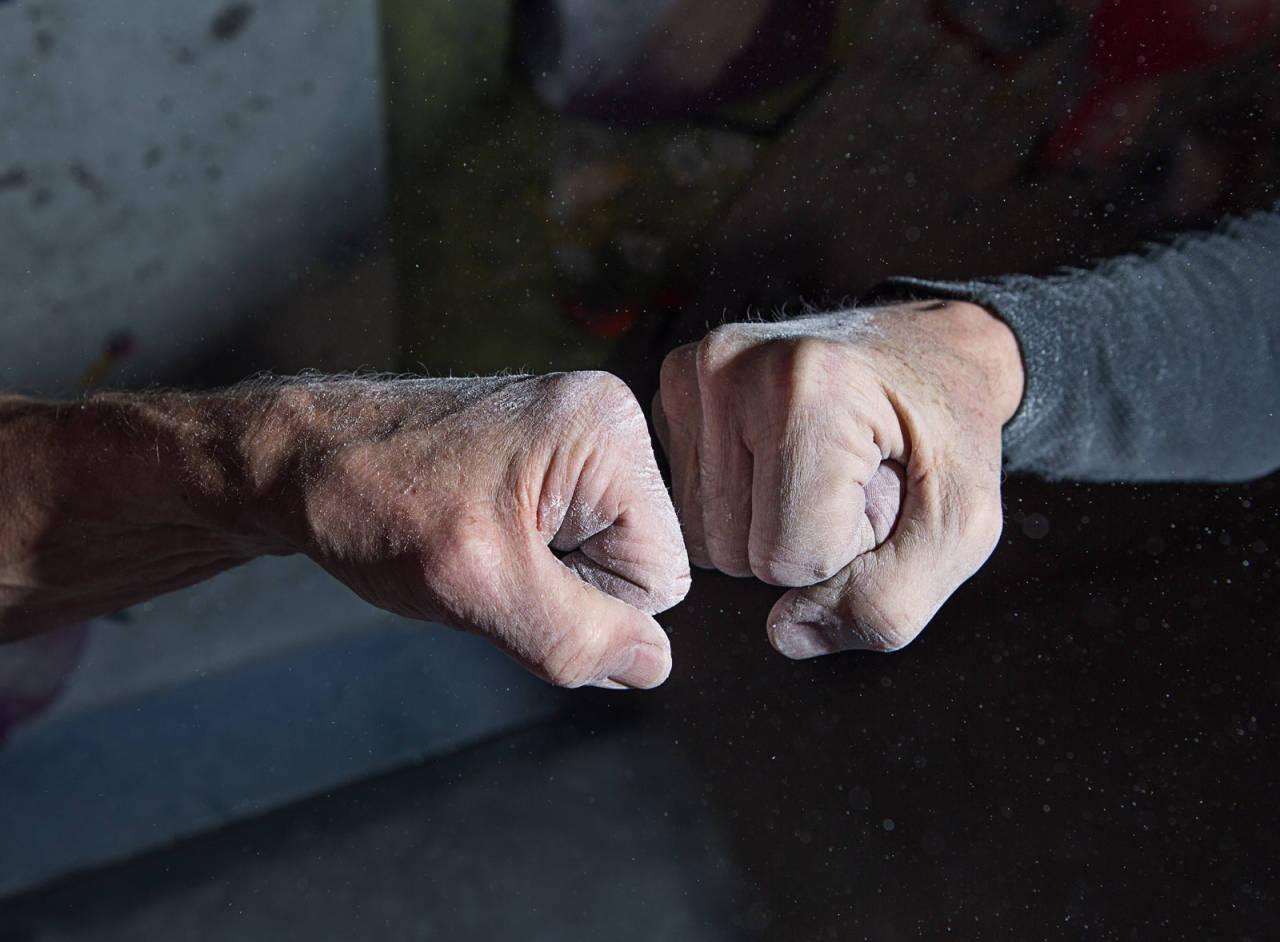 Vinnere: Å klatre aktivt når man er over 80 er både en prestisje og et privilegium. Foto: Hanna Jordan