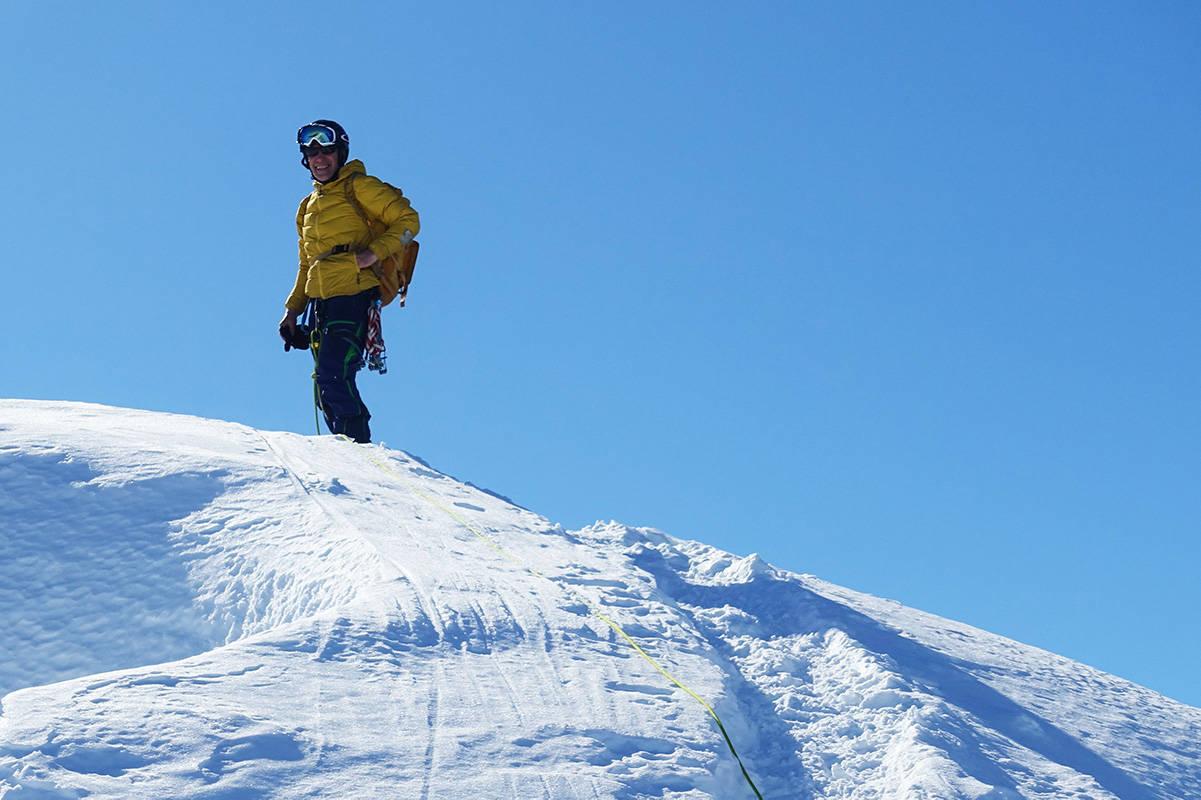 Øyvind Vadla ski påske klatring topptur Innerdalen