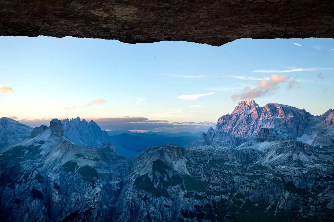 VAKKERT: Dolomittene i all sin prakt. Foto: Jensen Walker