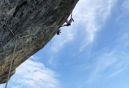 Tina Hafsaas klatring påske Ceuse
