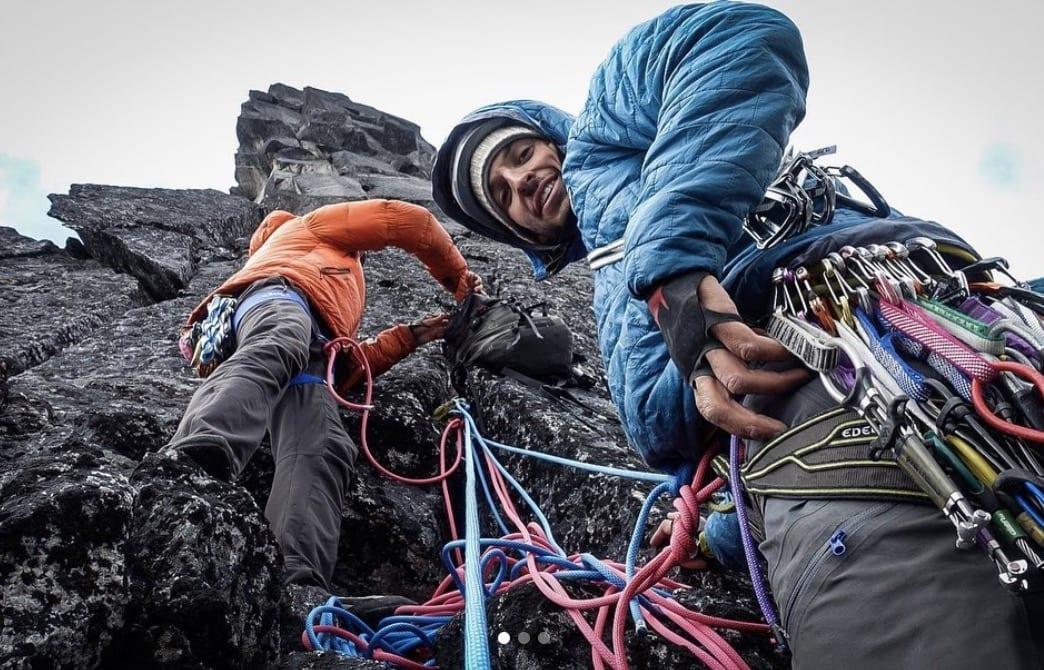 Andreas Widlund skal holde foredrag om klatring på Gønland.